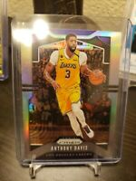 2019-20 Chronicles Prizm Basketball Anthony Davis Lakers Silver Prizm Card #506