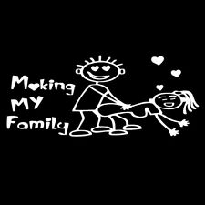 My Family Funny Vinyl Decal Sticker Car Auto Window Decals Stickers Durable