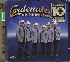 Los Cardenales de Nuevo Leon 10 Audios 10 Videos  CD+DVD New Nuevo Sealed