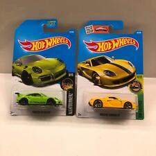 Hot Wheels Lot 2X Porsche 911 GT3 RS Nightburnerz / Porsche Carrera GT 4/10 CL21