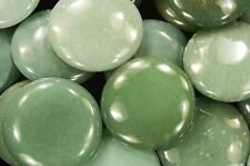 "Green Aventurine Palm Stone 2 1/2"" Massage Polished Healing Crystal Heart Chakra"