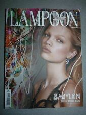 Magazine mode fashion LAMPOON THE FASHIONABLE volume 9 Babylon cover 2