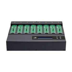 Ureach 1:7 M.2 NVMe SATA PCIe Hard Drive Duplicator/Sanitizer 10.2GB/Min NV-BMS8