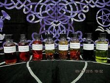 Witchcraft Potion Set ~ 8 pc Potion Set ~ Wicca Starter Set ~ Witchcraft Supply