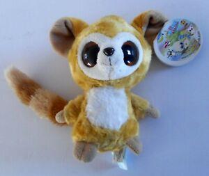 "Aurora YooHoo & Friends FOX LEMUR Plush Soft Toy Stuffed Animal 6"""