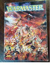 Libro de reglas Warmaster normativa Games Workshop