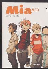 BD MIA & CO tome 1 Vanyda Hitori De Ado jeunesse