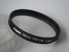 CANON FILTRE SKY 1A diam 49mm