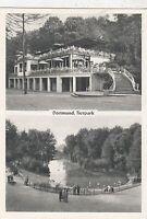 BF19107 tierpark  dortmund germany front/back image