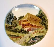 vintage CICO Germany - House Landscape Plate