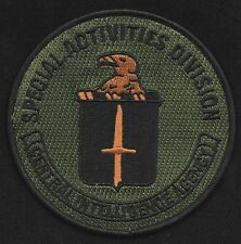 Central Intelligence Agency CIA SAD Special Activities Division Collectors Patch