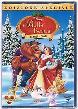 LA BELLA E LA BESTIA UN MAGICO NATALE  DVD DISNEY SIGILLATO!!!