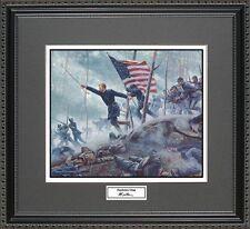 Mort Kunstler CHAMBERLAINS CHARGE Framed Print Civil War Wall Art Gift