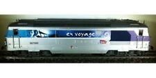 """Locomotive diesel SNCF livrée """"En Voyage"""" BB67560 ho ep 5 Jouef HJ2020 neuve"""