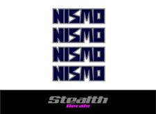 Nismo Rueda Pegatinas/Calcomanías x4 Premium Calidad LM GT R32