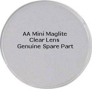 MINI MAGLITE AA Torch Lens, Clear Genuine Spare Part