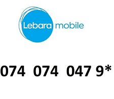 LEBARA GOLD  MOBILE PHONE NUMBER VIP BUSINESS EASY DIAMOND PLATINUM SIM CARD