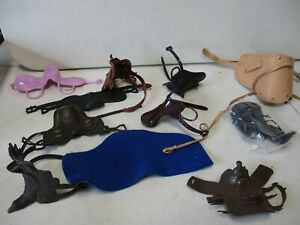 Soldiers of the World Saddle and Horse Accessories Lot