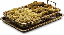 Gourmia GCT9960 Oven Crisper Tray – Uses Hot Air to Crisp & Fry Food With