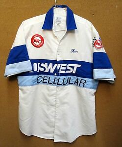 1980's U.S. WEST CELLULAR hydroplane race team shirt