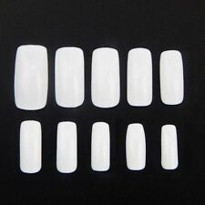 500 pcs French Acrylic Fake Fingernails Full Cover Fake False Nail Art Tip White