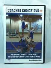 Pyramid Structure and Technique for Cheerleading (DVD, 2006)