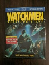 WATCHMEN DIRECTOR'S CUT Blu Ray 3 Disc Special Edition Movie DVD 186 Minutes