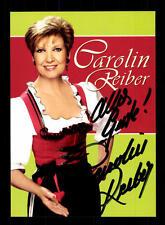 Carolin Reiber Autogrammkarte Original Signiert ## BC 103959
