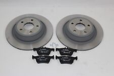 Original Brake Discs + Brake Pads Rear Ford Mondeo Mk5 2016293+ 2110582