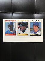 1989 SCD Baseball #3 KEN GRIFFEY JR. UNCUT Sheet 10?? tough! Pocket Price Guides