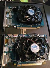 2 x Sapphire RADEON HD 5670 (1024 MB) 2GB Xfire Config.