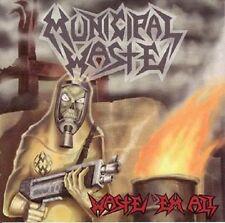 Municipal Waste - Waste 'Em All LP - White Vinyl - Thrash Metal - NEW COPY