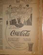 Ad Coca Cola - The Duluth News Tribune - May 21, 1915 - Single Page Newspaper Ad