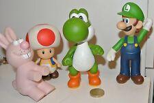 Super Mario action figures Mushroom Luigi Yoshi