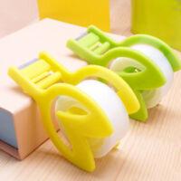 New Plastic Seat Tape Holder Office Dispenser Desktop Cutter Packaging Tool WE