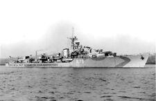ROYAL NAVY V CLASS DESTROYER HMS VIRAGO - RIVER TYNE - NOVEMBER 1943