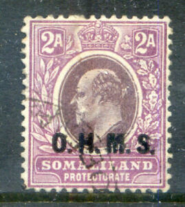 Somaliland Protectorate 1904-5 2a mult. crown CA watermark used (2020/11/26#04)
