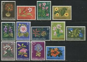 Sierra Leone Flower set to £1 mint o.g.