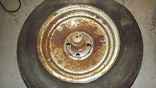 "Alpha Romeo Spider steel wheel rim 14"" inch 4 lugs needs restoration OEM"
