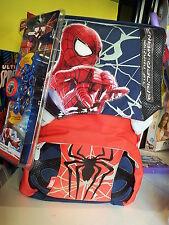 ZAINO BORSA ZAINETTO UOMO NYLON SCUOLA NUOVO Spiderman