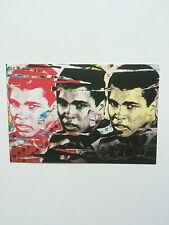 SIGNOR del cervello. Muhammad Ali Trittico, carta promozionale, 2010