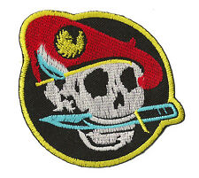 Patch thermocollant écusson brodé patche Commando thermo