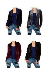Damen-Anzüge & -Kombinationen aus Polyester mit Jacket/Blazer und Unifarben für Hüftlang