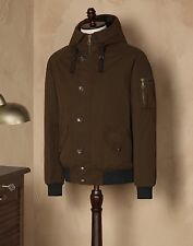 NWT $1395 Dolce & Gabbana PADDED WATERPROOF JACKET WITH PLAQUE size 44IT