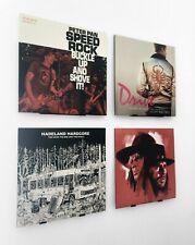 Neues AngebotVinyl Wandhalterung für Schallplatten (4 Stück) Display, LP Halter, Rahmen