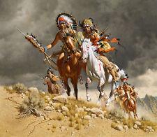 """Cheyenne War Party"" Frank McCarthy Limited Edition Giclee Canvas"