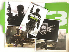 Call of Duty MW3 Mordern Warfare Classified Intel Pack VGC