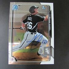 Adam Engel Signed Card 2015 Bowman Chicago White Sox Autograph Auto