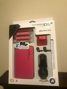 Nintendo DS Lite Starter Kit by Power A Pink