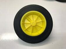 REPLACEMENT WHEELIE BIN WHEEL / WHEELIE BIN WHEELS 200/50-100 - YELLOW